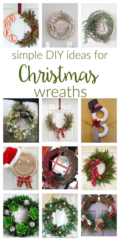 Rustic Christmas Wreaths To Make.Diy Christmas Wreaths Ideas Wreath Hoarder Christmas
