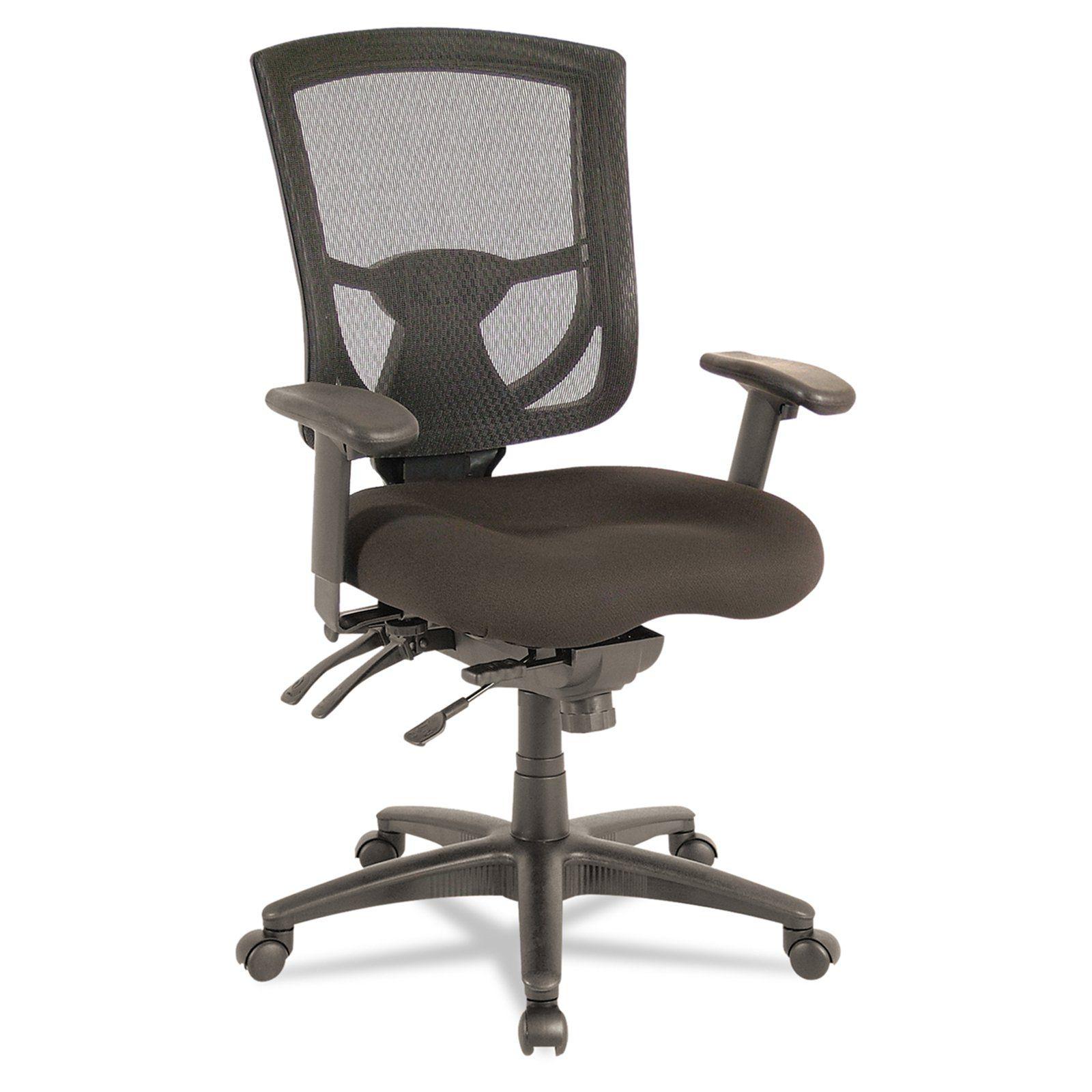 Alera ex series mesh multifunction midback chair black