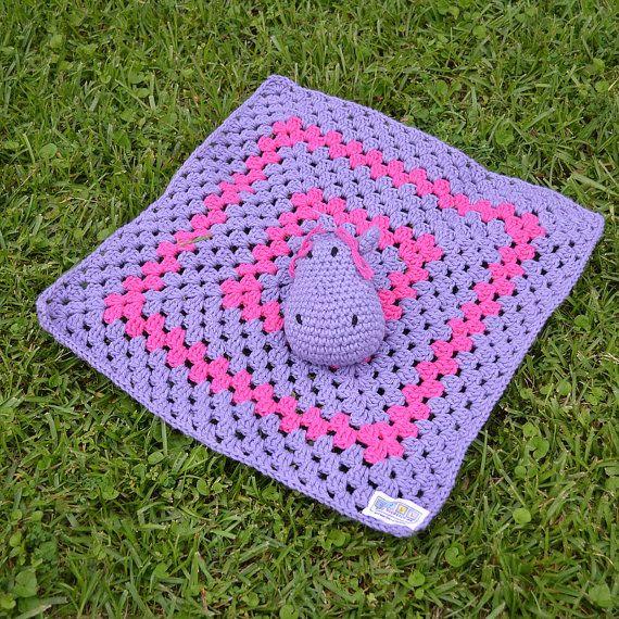 Crochet Happy Hippo crochet security / by DollBabyAccessories