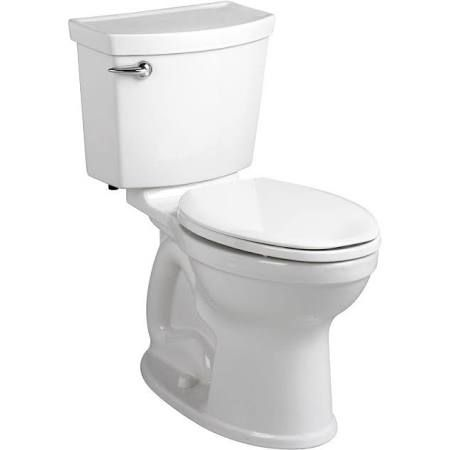As Champion 4 Max Right Height High Efficiency Elongated Toilet 348 At Home Depot Extra Large Trapway And Flus American Standard Toilet Toilet Tank