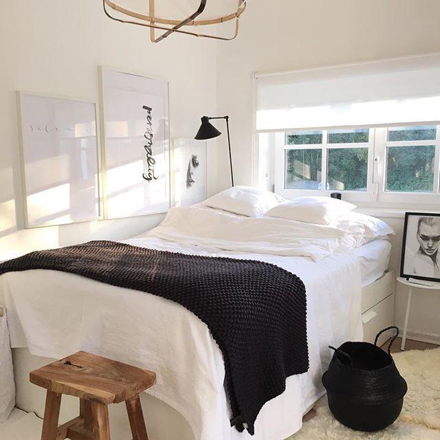 Some changes in the bedroomNormalerweise ziehen zur dunklen - schlafzimmer dunkle farben