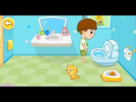 Solo Al Bano Sin Panal Youtube Canciones Infantiles Control De Esfinteres Ninos Gif