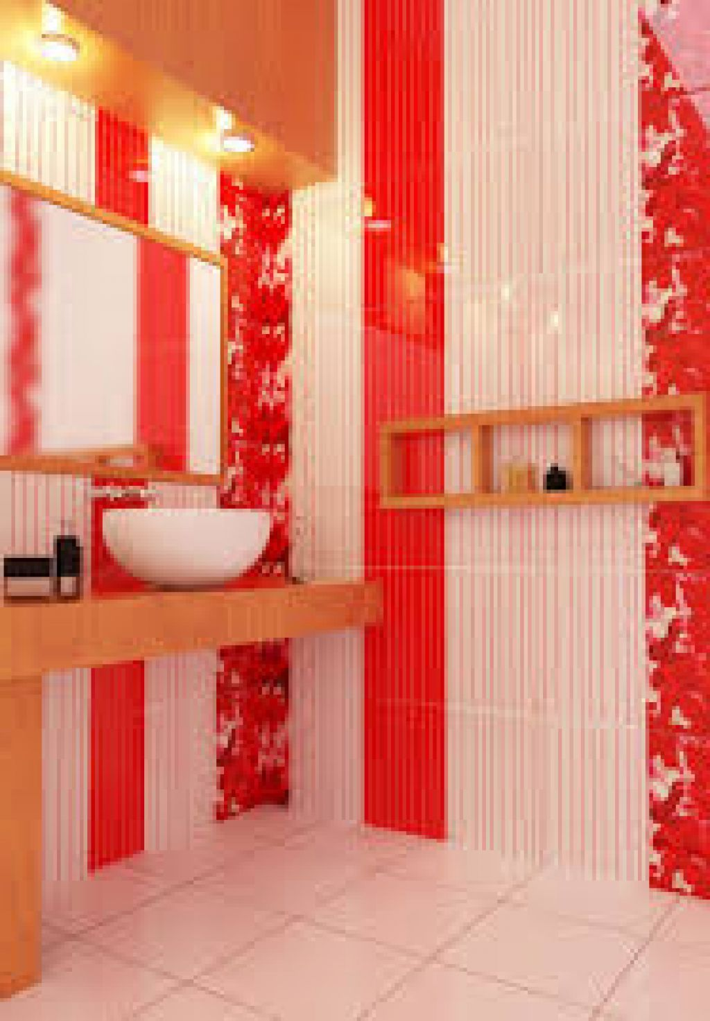 Bathroom Colorful Small Bathroom Ideas In Minimalist Home With Simple Arrangement Colorful Small Bathroom