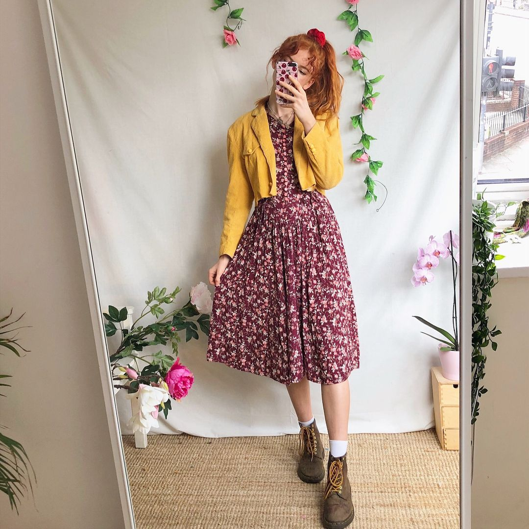 """61c8156b19596 ❁ ➶ ☼ MATHILDA ❁ ➶ ☼ on Instagram: """"A weekend look book🐞🦋🐝 All to be  sold on my Depop in the next few days🌞"""""""