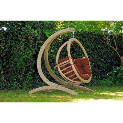 Arlmont Co Giovani Swing Chair, Outdoor Swing Seat With Stand
