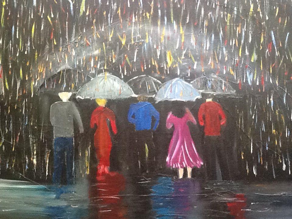 Chuva de cores
