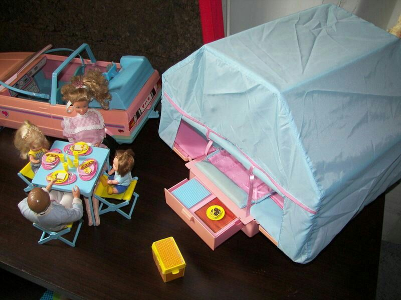 Tente Barbie Voiturecaravane 80'BarbieJouets Tente D Barbie Voiturecaravane qVGpSzLUM