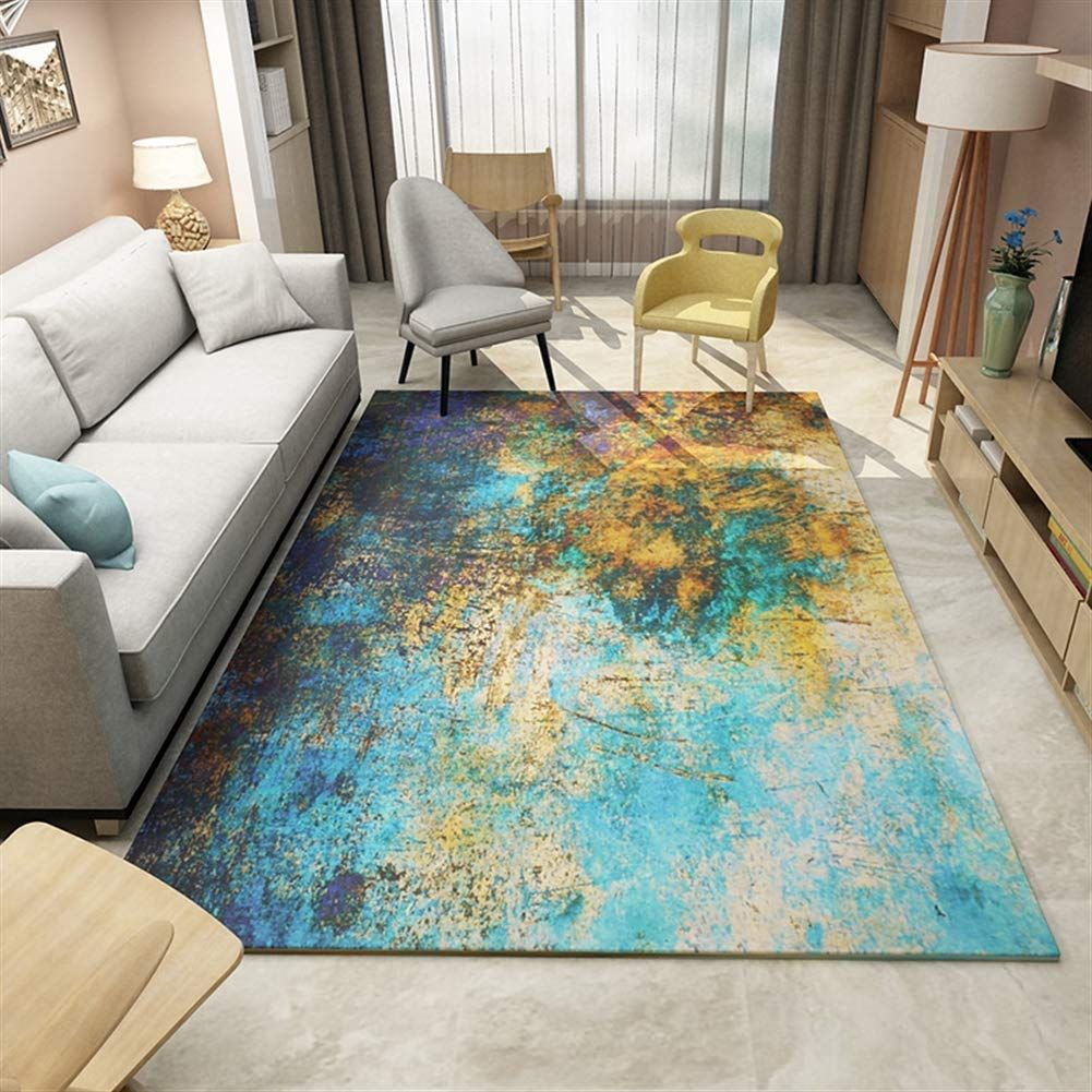 Eclectic Decor Style The Design Salad Turquoise Rug Living Room Eclectic Rugs Eclectic Style Decor