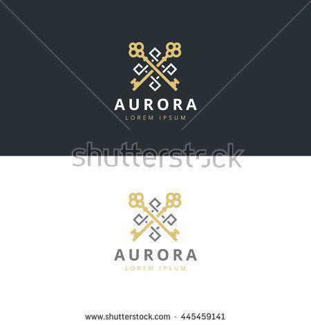 real estate logotype keys logo icon design premium logo logo rh pinterest com