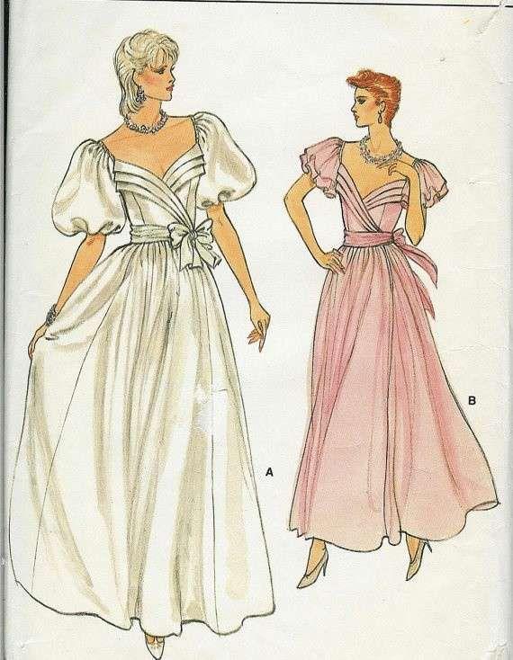 Cartamodelli di abiti da sposa (Foto)  f1e5c30f0d7