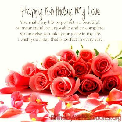 Happy Birthday My Love Wishes Happy Birthday Happy Birthday My
