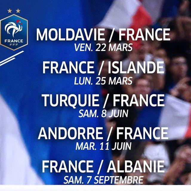 Le Calendrier Euro 2020.Euro2020 Calendrier De La 1ere Partie Des Eliminatoires