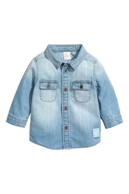 a5aecdb928255 Camisa vaquera Baby Shirts