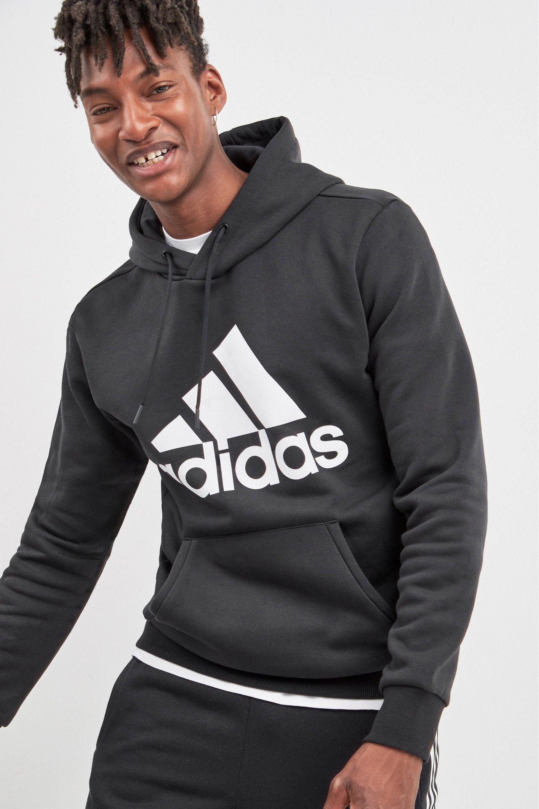 adidas Badge Of Sport Overhead Hoody Hoodies, Adidas men
