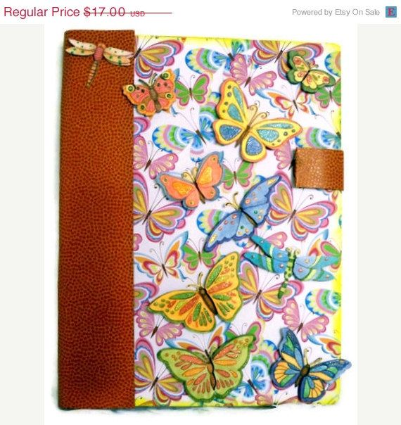 CIJ SALE Altered Composition Book Recycled Hard by AuriesDesigns $18.00