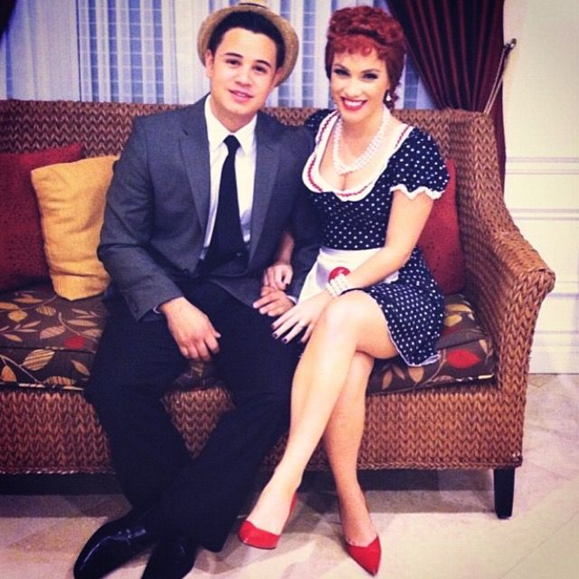 lucy and ricky ricardo from i love lucy halloween costume - I Love Lucy Halloween Costumes