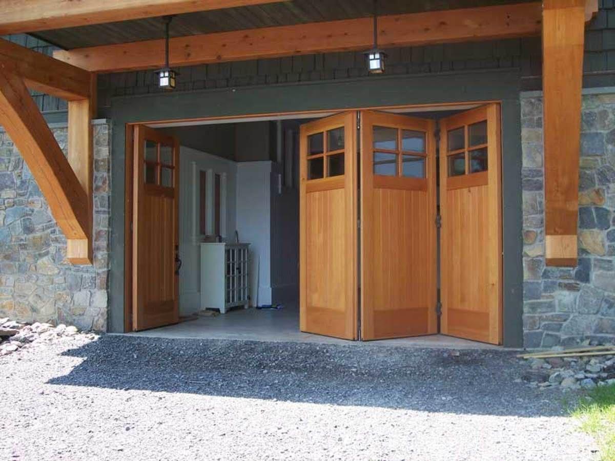 Arts Crafts Garages With Images Garage Doors Garage Design Garage Door Design