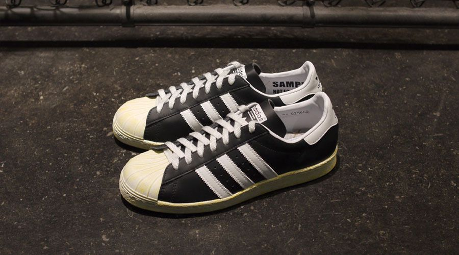 Adidas originals for mita sneakers - holiday 2012 vintage pack -superstar 80s