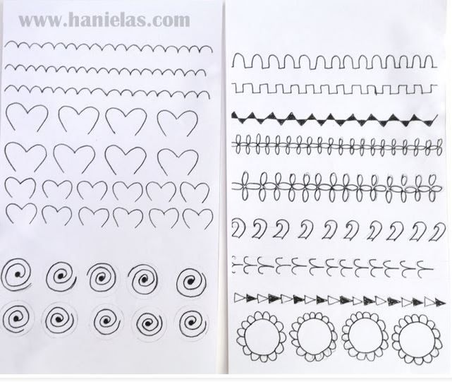 Practice Sheet From Hanielas TIPS Piping Practice Sheets