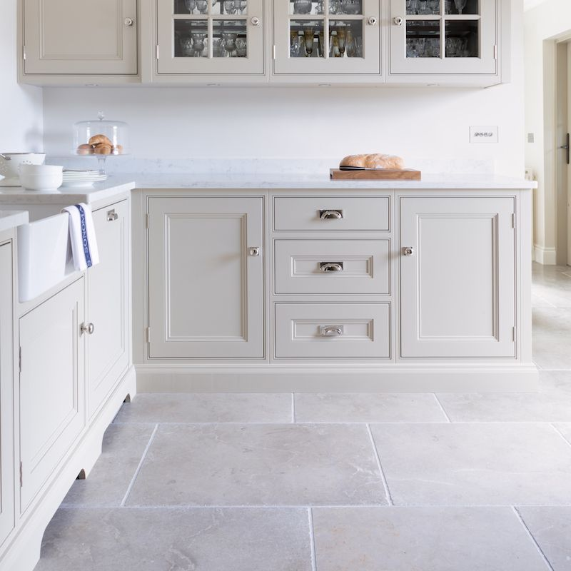 Earl Grey Limestone Natural Stone Flooring Hm Stone Library 11 Grey Kitchen Floor Stone Kitchen Floor Kitchen Flooring