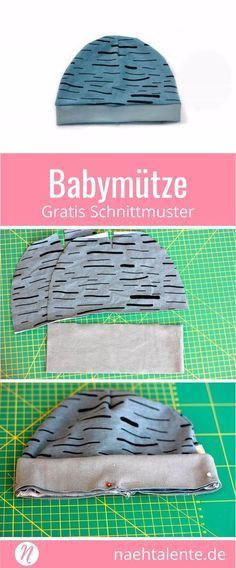 Einfache Babymütze - Freebook | Nähtalente