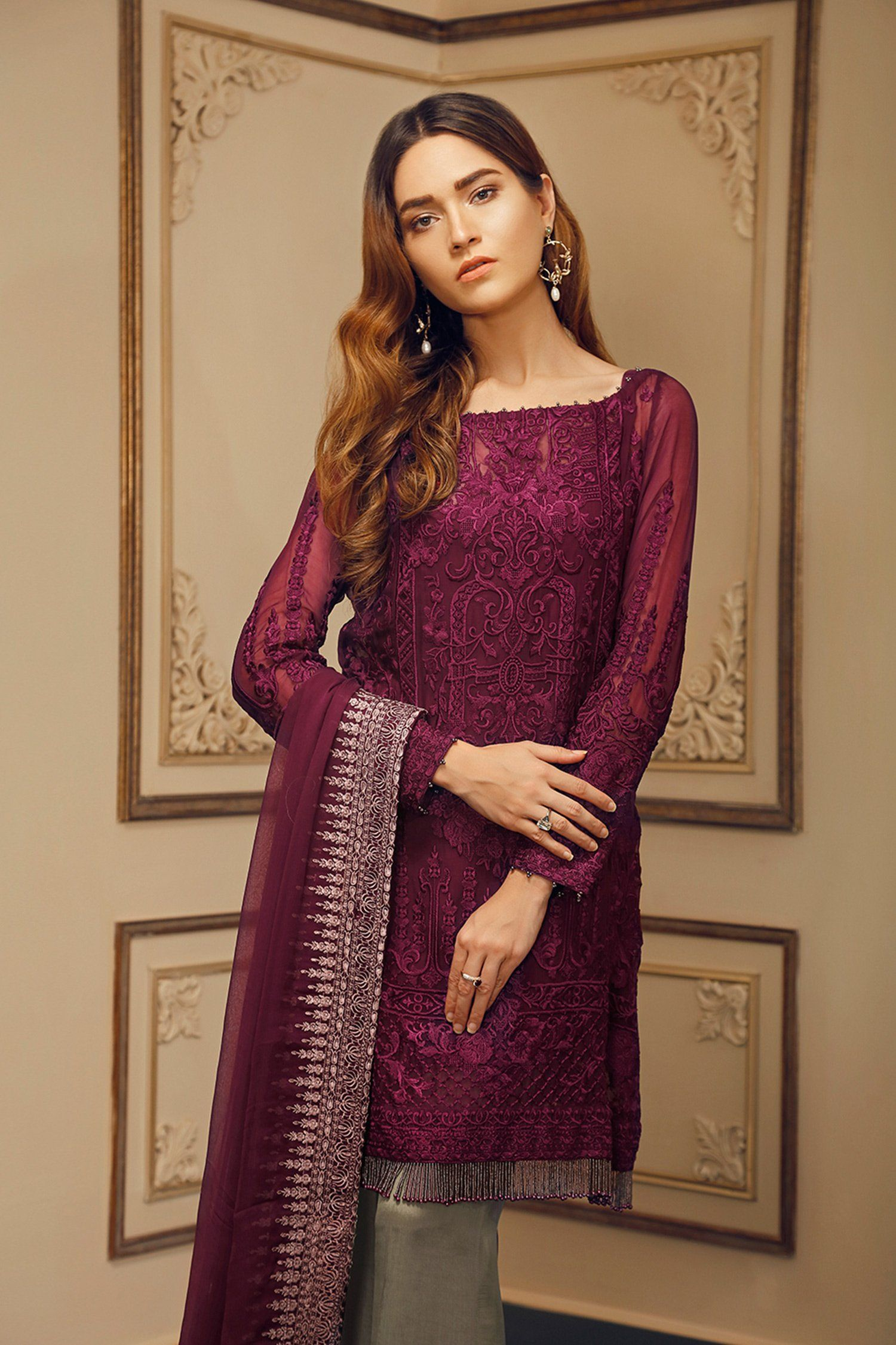 f06978edde Baroque Chantelle Collection | Vin Rouge | mnahil4404 in 2019 ...