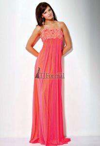 Peachy toned dress