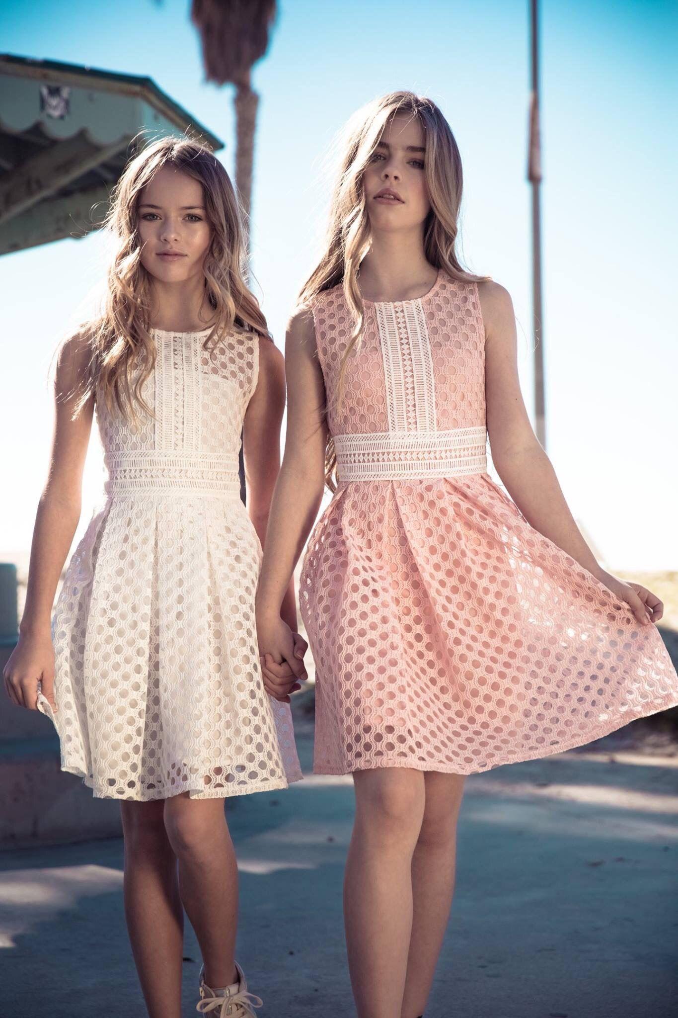 Kristina Pimenova and Jade Weber | Blusas/vestidos niñas | Pinterest ...