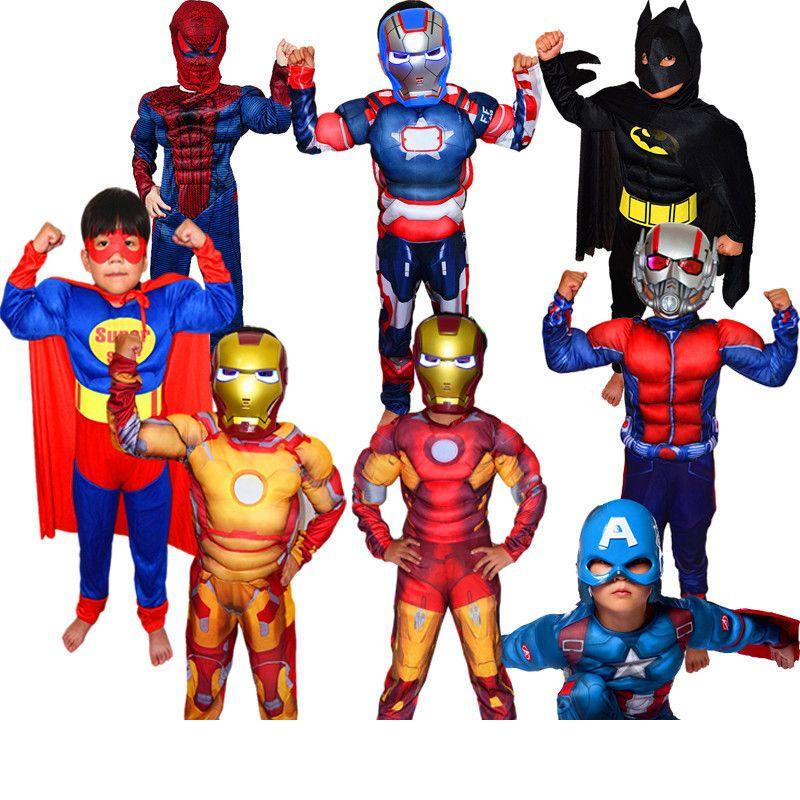 de no l gar ons muscle super hero captain america costume spiderman batman hulk avengers