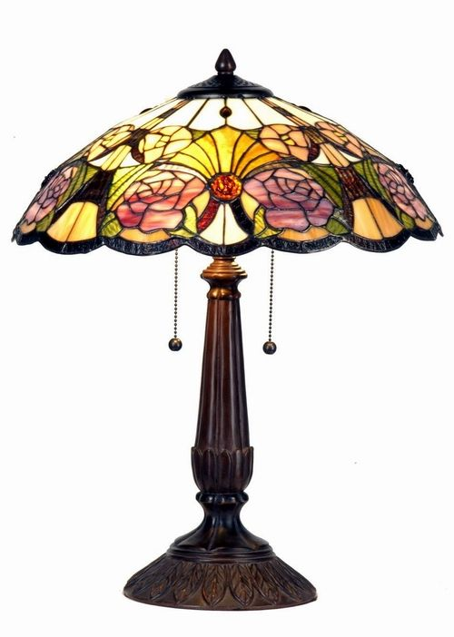 Tiffany Lamps For Sale | Tiffany Table Lamp Real Tiffany Glass Hand Made  Diameter 44 Cm