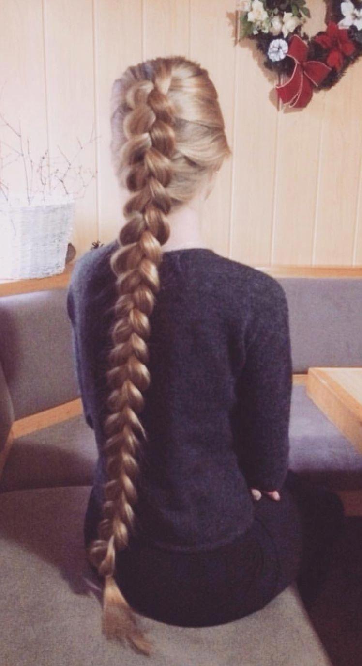 Jumbo Braid Long Beautiful Hair Style Hairstyle Haircolor Hairideas Braidscrown Beautiful Long Hair Long Hair Girl Long Hair Styles