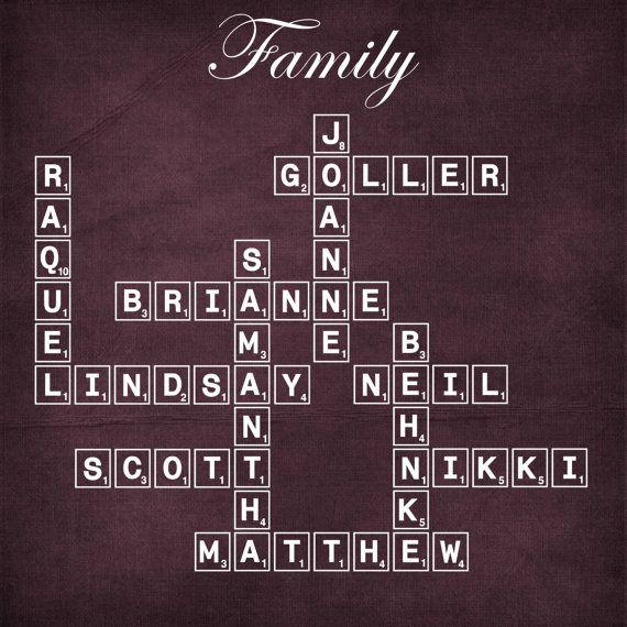 Modern family tree design
