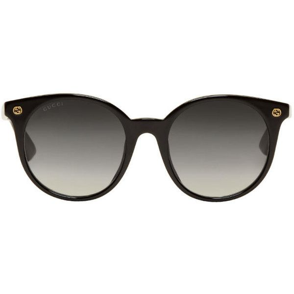 2bb45f359a9 Gucci Black Pantos Sunglasses ( 255) ❤ liked on Polyvore featuring  accessories