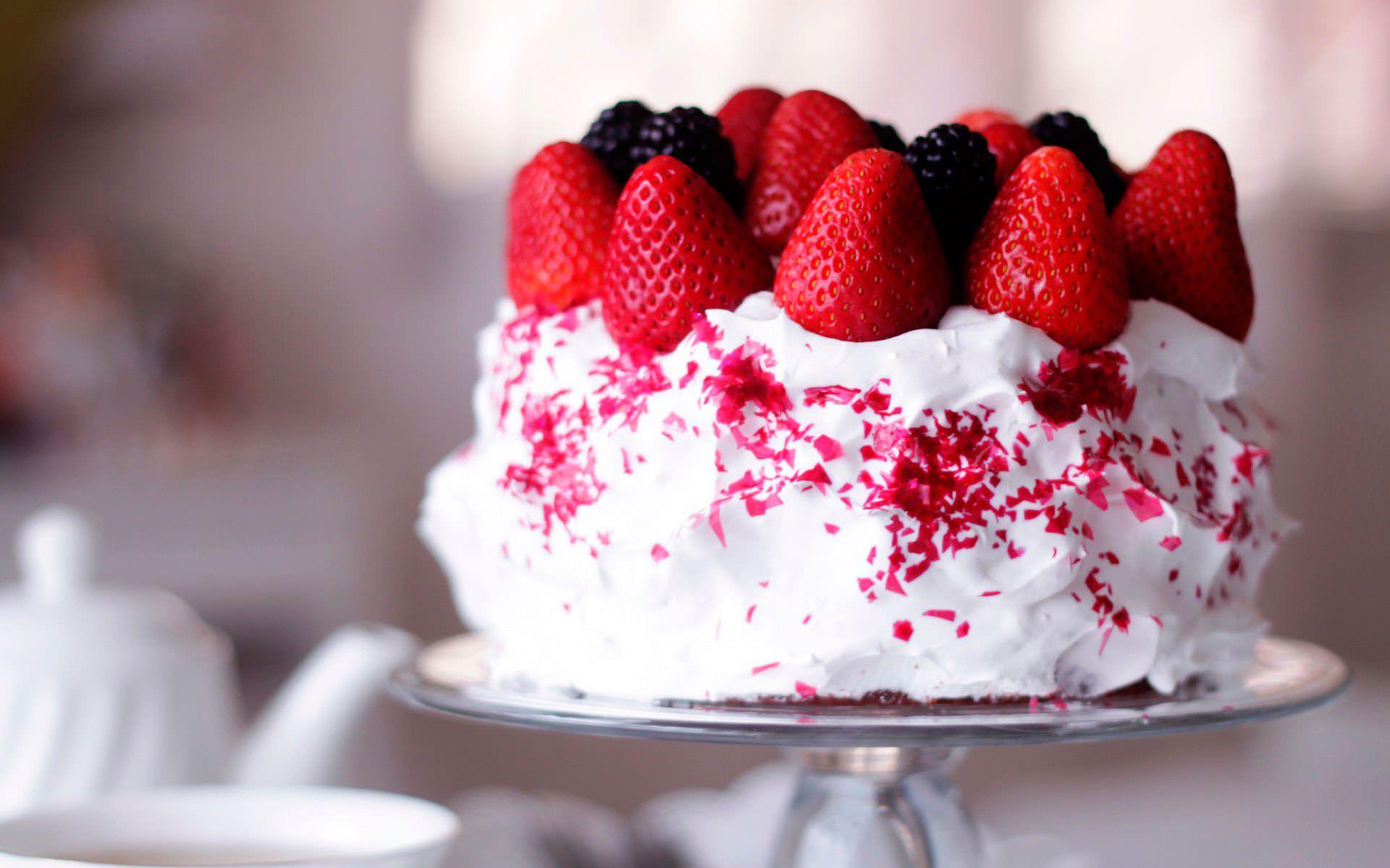 Сметанный торт с готовыми коржами | Идеи для блюд, Десерты ...