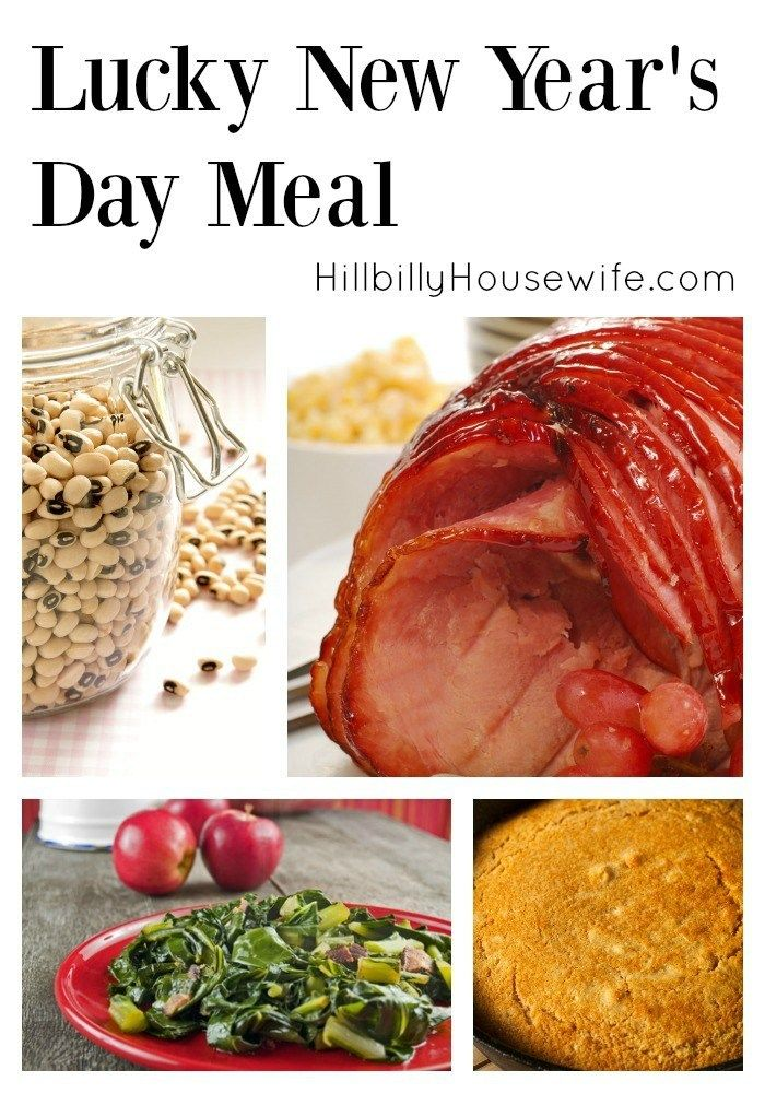 New Year S Day Lucky Meal New Years Dinner New Years Day Meal Dinner Menu