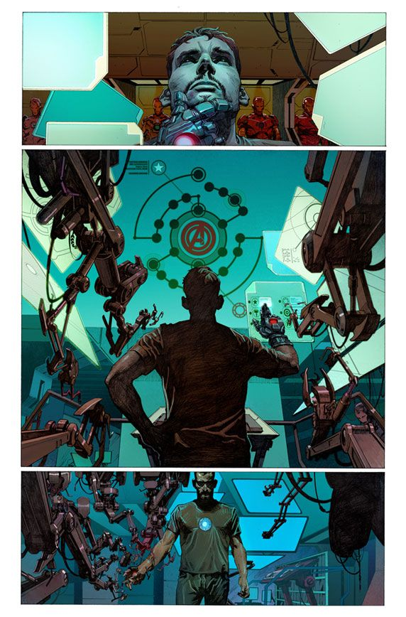 Tony Stark by Jerome Opeña