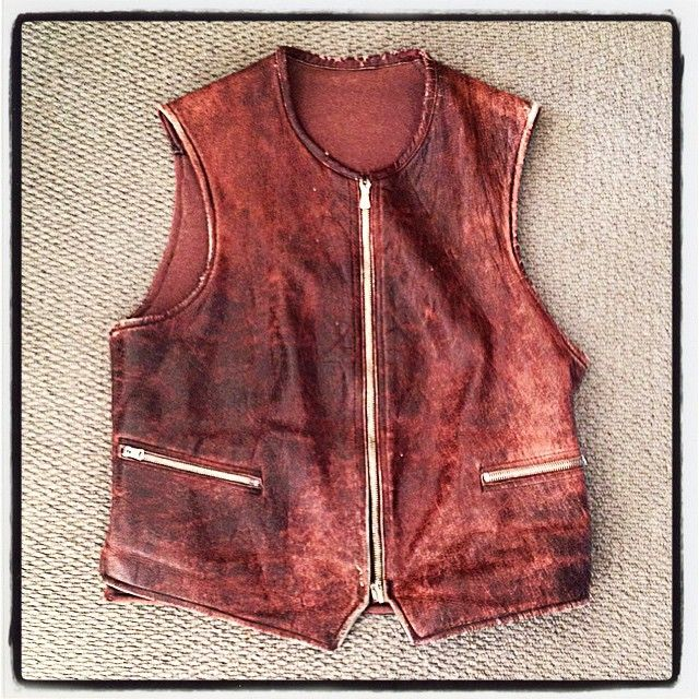 """1930s French Leather Motorcycle Gilet @somebodyandsons #motorcycle #vintage #riri #grommet"" Photo taken by @somebodyandsons on Instagram, pinned via the InstaPin iOS App! http://www.instapinapp.com (04/07/2015)"