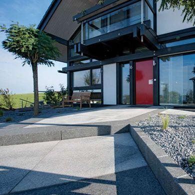 Tuintegels :: Metten Stein+Design :: Umbriano Granietgrijs-wit ...