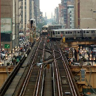 The El, Chicago.  A great ride when I was young