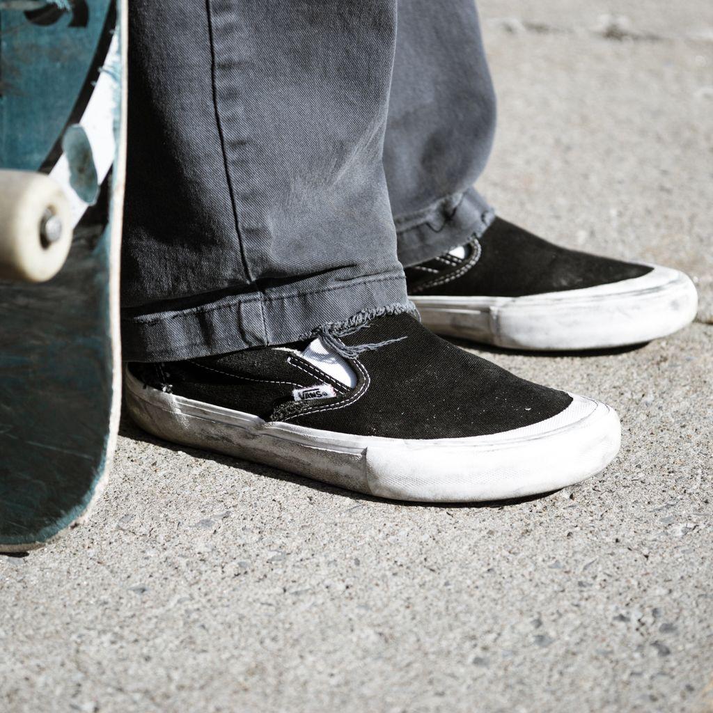 Slip On Pro Toe Cap Black Vans Slip On Pro Vans Slip On Slip On