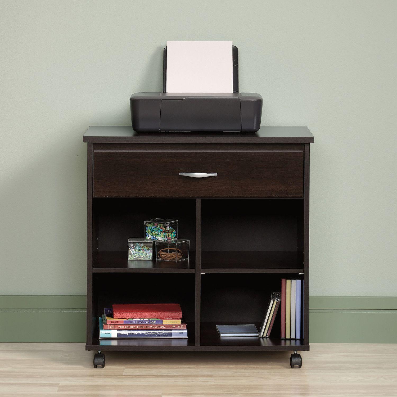 Sauder Beginnings Printer Stand Printer Stands Printer Stand Furniture