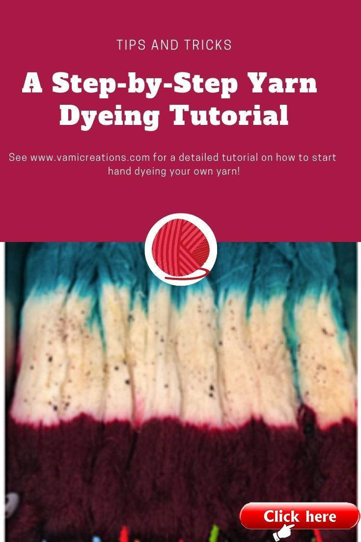 Step-by-Step Yarn Dyeing Tutorial with HighFiberArtz  Looking to learn to dye yarn and have no idea where to start? This step by step tutorial is for you! Liz of Highfiberartz takes you step by step from gathering materials to creating your first skien of beautiful hand dyed yarn. All you need to know to create the perfect hand dyed yarn for your next project.  The post Step-by-Step Yarn Dyeing Tutorial with HighFiberArtz appeared first on Yarn ideas. #dyeingtutorials Step-by-Step Yarn Dyeing Tu #dyeingtutorials