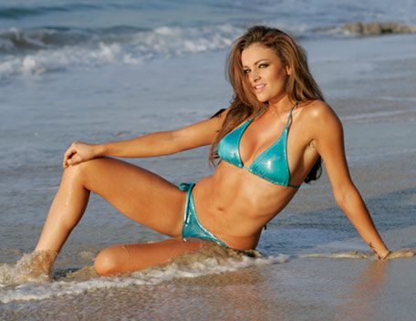Body, love maria kanellis in bikini knows