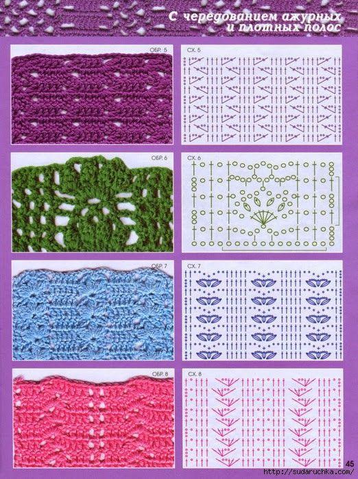 MES FAVORIS TRICOT-CROCHET: 150 points au crochet | Stitches & Tips ...