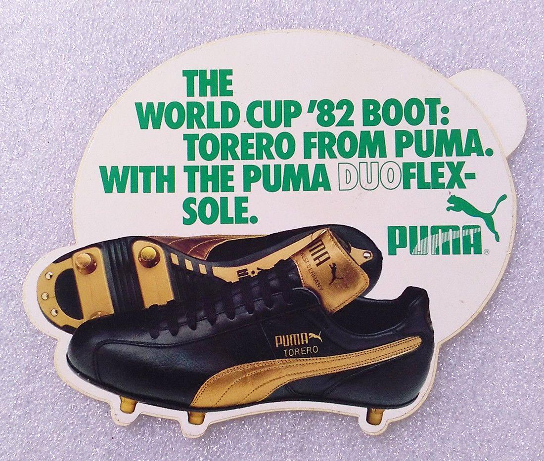 PUMA \u0026 SPAIN 82 FIFA WORLD CUP