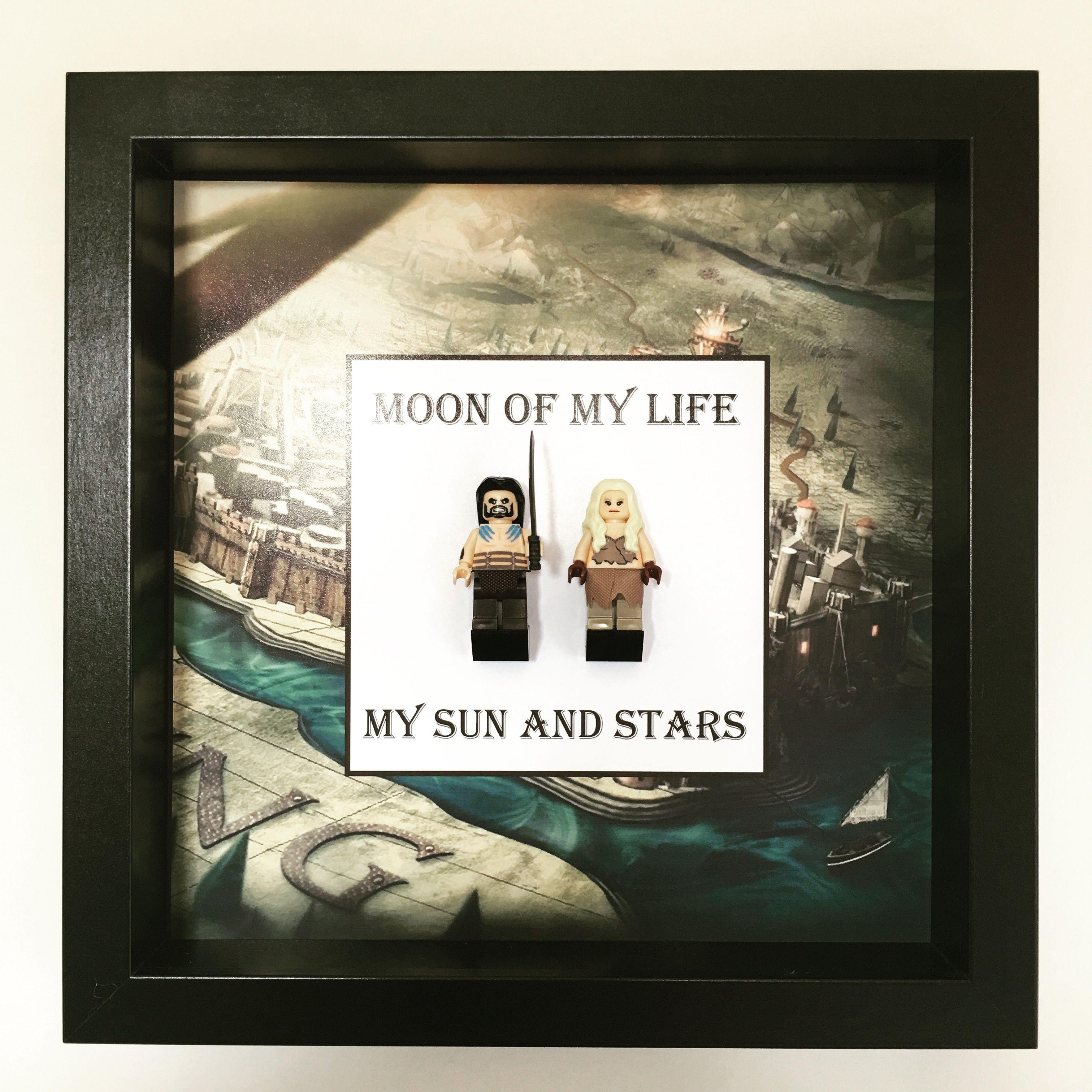 Game Of Thrones Love Minifigure Frame, Mum, Gift, Geek, Box, Dad ...