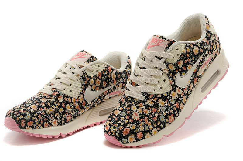 Nike Air Max 90 Floral Print Womens Jasmine Flower UK Trainers are hot sale  with the best price. Our store offer a great variety of Air Max 90 Women.