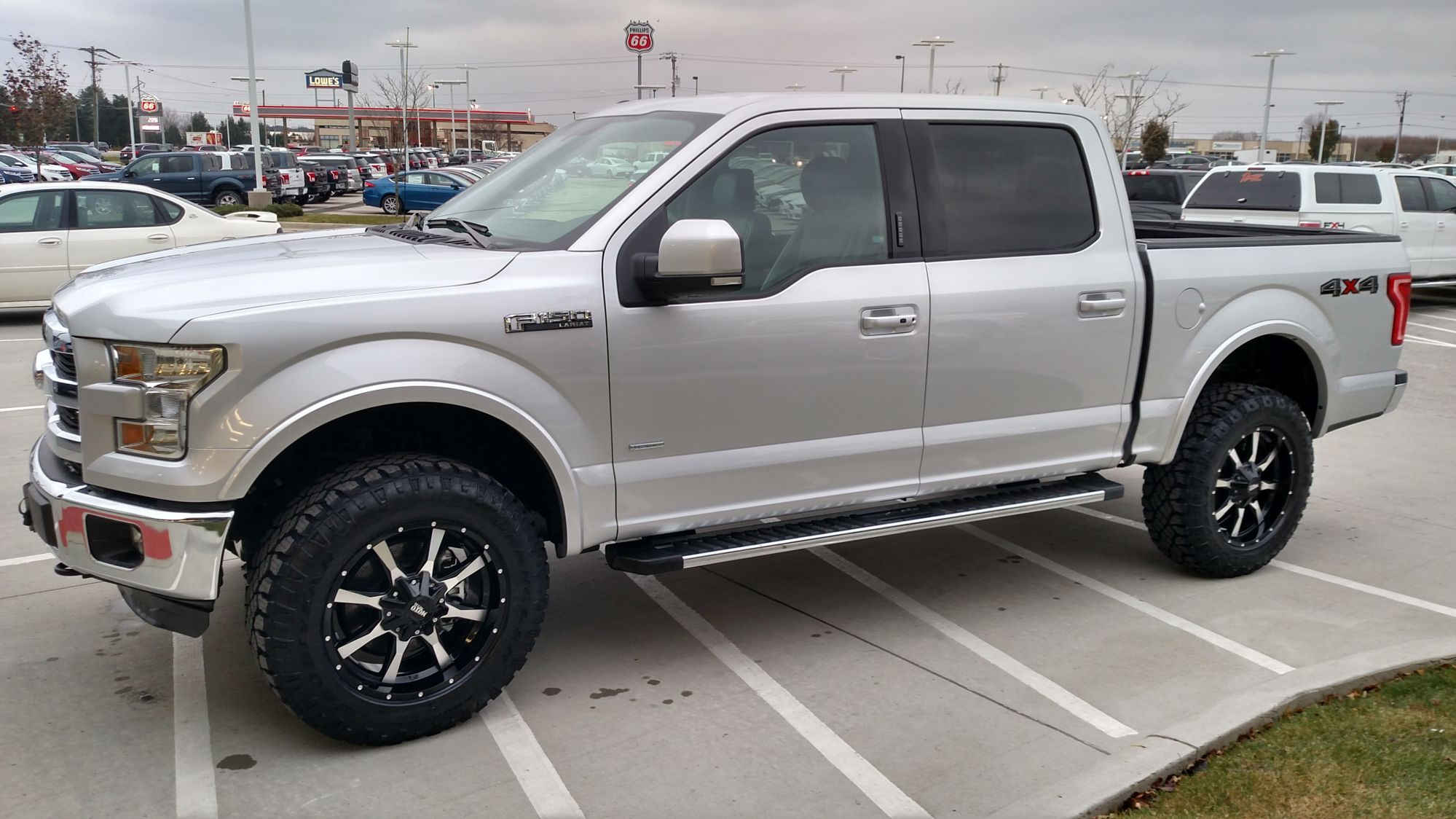 2 inch level tire issues ford f150 forum community of ford truck fans