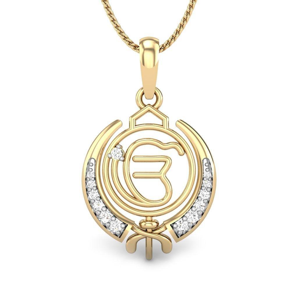 Khanda ik onkar pendant symbolizing that there is only one creator khanda ik onkar pendant symbolizing that there is only one creator this sikh religious aloadofball Images