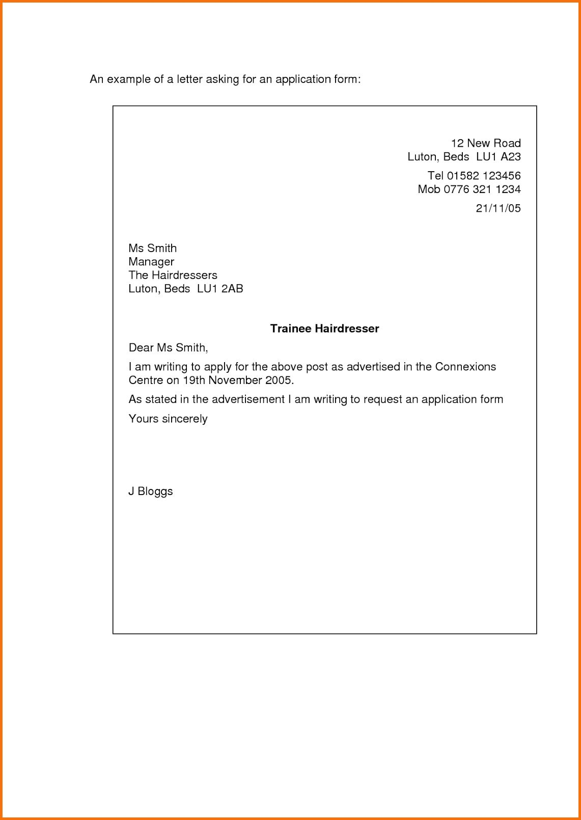 23 Short Cover Letter Examples Job Application Cover Letter